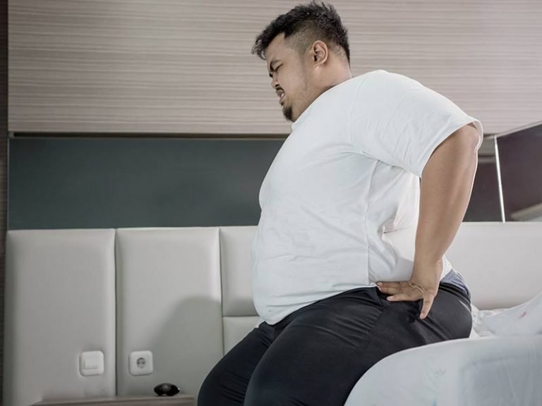 Can being overweight cause back pain?