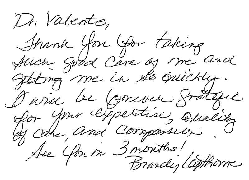 Letter from Brandy