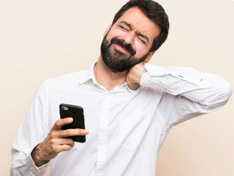 Text Neck Pain: 6 Ways for Relief